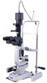 A.R.C. slit Lamp PCL5 SHD (Haag-Streit type) HALOGEN version incl. chin rest and power supply, NEW!