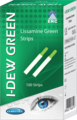 I-DEW Green, 100 lissamine green sterile single strips