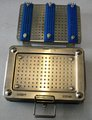 Geuder S-03244 Sterilizing Case for Steam Sterilization, pre-owned, fine condition
