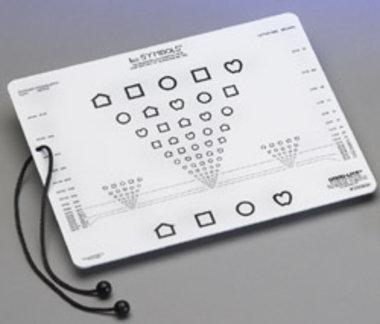 Lea Symbols Near Vision Card #250800, Item No.: 001700