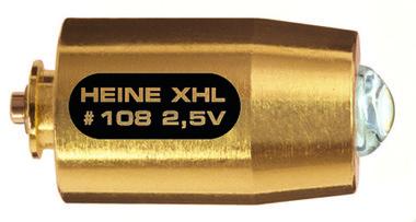 XHL Xenon Halogen Ersatzlampe 2,5 Volt für Heine mini-c Cliplampe, Artikelnummer: 000930