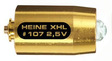 XHL Xenon Halogen Ersatzlampe 2,5 Volt für Heine mini 3000 Cliplampe, Artikelnummer: 000929