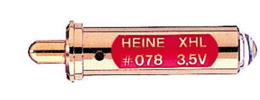 XHL Xenon Halogen Ersatzlampe 3,5 Volt für Heine Lambda 100 Retinometer, Artikelnummer: 004014