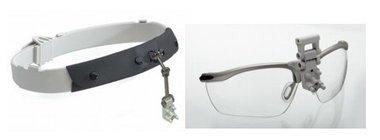 HEINE Kopfband Lightweight mit S-Guard Spritzschutz für HEINE HR®, HRP® und HR-C® Binokularlupen, Artikelnummer: 004068