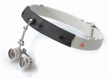 HEINE C 2.3® Kopfband-Binokularlupe mit 2,3x Vergrößerung, Arbeitsabstand 450mm, Artikelnummer: 004072