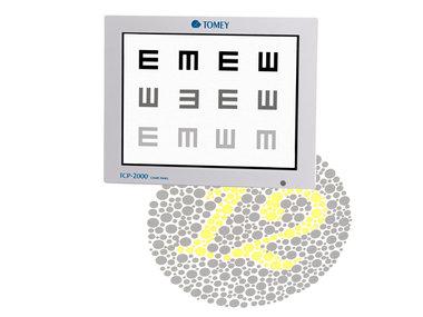 Sehzeichenmonitor Tomey Modell TCP-2000, NEU!, Artikelnummer: 011145
