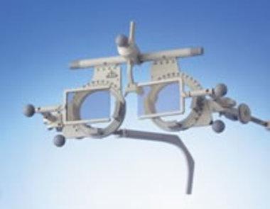 Polarisation-Filter (Analysatoren), Oculus 45°/135° für Universalmessbrille Oculus Modell UB4, NEU!, Artikelnummer: 001569
