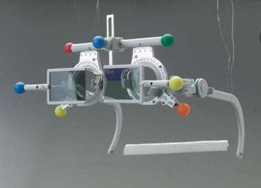 Polarisation-Filter (Analysatoren), Oculus 45°/135° für Universalmessbrille Oculus Modell UB5, NEU!, Artikelnummer: 001571