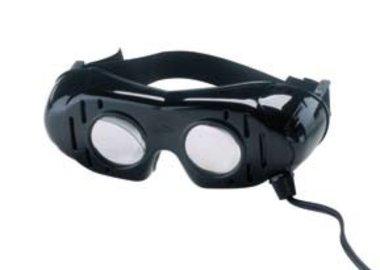 Oculus Nystagmusbrille nach Frenzel, 4V Wechselspannung, inkl. Trafo, NEU!, Artikelnummer: 001912