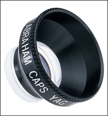 Ocular Instruments OAYA ABRAHAM Kapsulotomie Laser Kontaktglas, NEU!, Artikelnummer: 090001