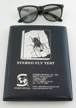 """Stereo Optical Stereotest """"Hausfliege"""" mit Polarisationsbrille, Artikelnummer: 017012"""