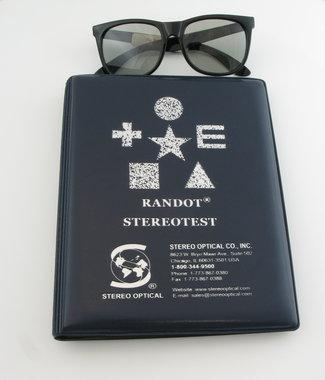 Stereo Optical Random DOT Stereotest mit Polarisationsbrille, Artikelnummer: 017011
