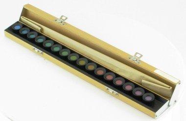 Farbtest Farnsworth 15D mit gesättigten Farben von Luneau Ref. 129941, Artikelnummer: 018348