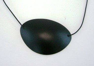 Augenklappe für Erwachsene, Kunststoff schwarz, NEU!, Artikelnummer: 018215