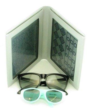 """Stereotest """"Schmetterling"""" (Lea Symbols) by VAC, inkl. Polarisationsbrille und Kinder-Polarisationsbrille, NEU!, Artikelnummer: 012379"""