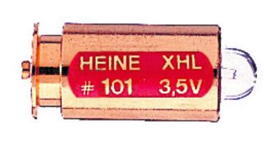 Ersatzlampe für Heine Autofoc, Ophthalmologische Untersuchungsleuchte mit Automatverschluss, 3,5V, Artikelnummer: 000897