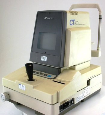 Computerized Tonometer Topcon Modell CT-20D, gebraucht, guter Zustand, Artikelnummer: 000165