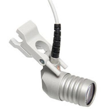 HEINE LED LoupeLight® Kompakte LED Lupenleuchte für HR 2 x und HR-C Binokularlupen für starren Lupenträger, Artikelnummer: 875423643