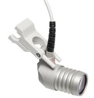 HEINE LED LoupeLight SET A inkl. mPack und Gelbfilter für HR 2 x und HR-C Binokularlupen, Artikelnummer: 784542456