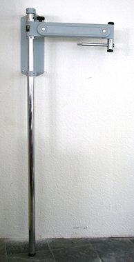 Universal Phoropterarm Grau mit Wandhalterung und Standsäule F.I.S.O. (FISO), NEU!, Artikelnummer: 8976546543213