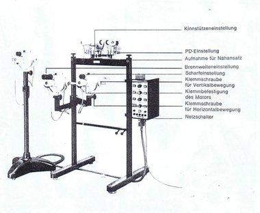 Möller-Wedel Phasendifferenz-Haploskop nach Aulhorn, gebraucht, guter Zustand, Artikelnummer: 2604201102