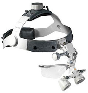 HEINE HR® 2x High Resolution Binokularlupen mit i-View auf Kopfband Professional L mit S-Guard splash protection, Artikelnummer: 02092011-3