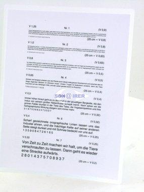 Schairer Nahleseprobe nach Nieden, Plastik eingeschweißt, 1-9 & Fahrplan & Telefonbuch, Artikelnummer: 16092011-2