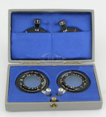 1 Paar Oculus Astikorrekt Kombinationskreuzzylinder, 38mm, OVP, gebraucht, guter Zustand, Artikelnummer: 19042012-5
