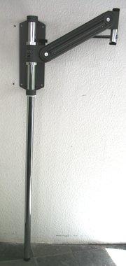 Universal Phoropterarm Dunkelgrau mit Wandhalterung und Standsäule F.I.S.O. (FISO), NEU!, Artikelnummer: 26042012-2