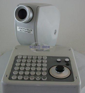 Sehzeichenprojektor Möller-Wedel Idemvisus Automat, gebraucht, guter Zustand, Artikelnummer: 001329