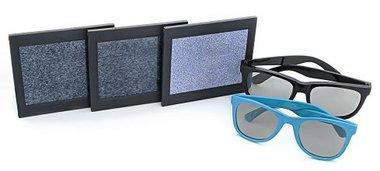 Stereo Optical RDE Stereotest Random DOT E mit 2 Polarisationsbrillen, Artikelnummer: 06112013-2