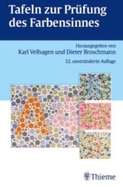 Tafeln zur Prüfung des Farbsinns Karl Velhagen, Dieter Broschmann (Autoren), Artikelnummer: 25092014-5