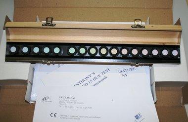 Farbtest Farnsworth 15 HUE von Luneau Ref. 7190035, ungesättigte Farben, Artikelnummer: 15052015