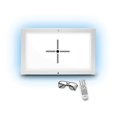 Reichert Sehzeichenmonitor ClearChart 4P Acuity system, polarisiert, NEU, Artikelnummer: 02022018-14