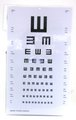 Visual Acuity Charts For Distance, Illiterate E's, glossy version, Schairer exclusive, NEW!