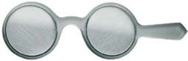 Oculus Bagolini lenses in hand-held lorgnette, axis 45° and 135°, NEW!, Item No.: 01130