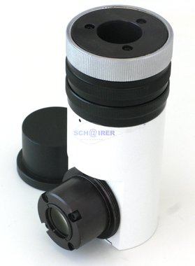 Photo / Video adapter with iris diaphragm, F=220 for Carl Zeiss optical divider, NEW, Item No.: 28062011